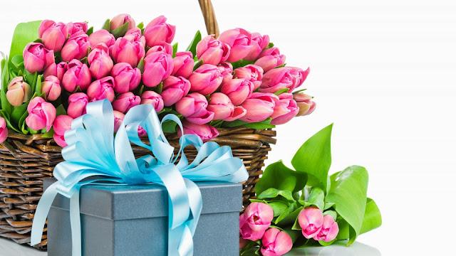 Flores y regalos para el Dia de las Madres