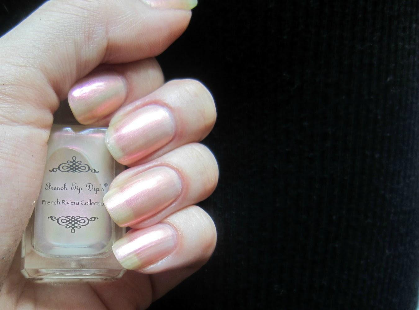Concrete and Nail Polish: Sheer