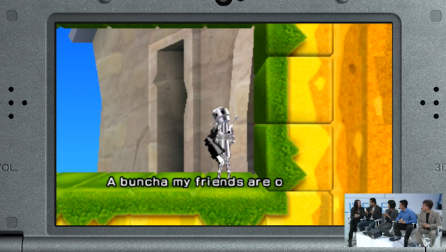 Chibi Robo Zip Lash mini cute screenshot gameplay dialogue