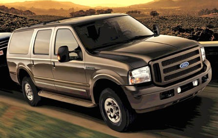 Ford Excursion Diesel Review