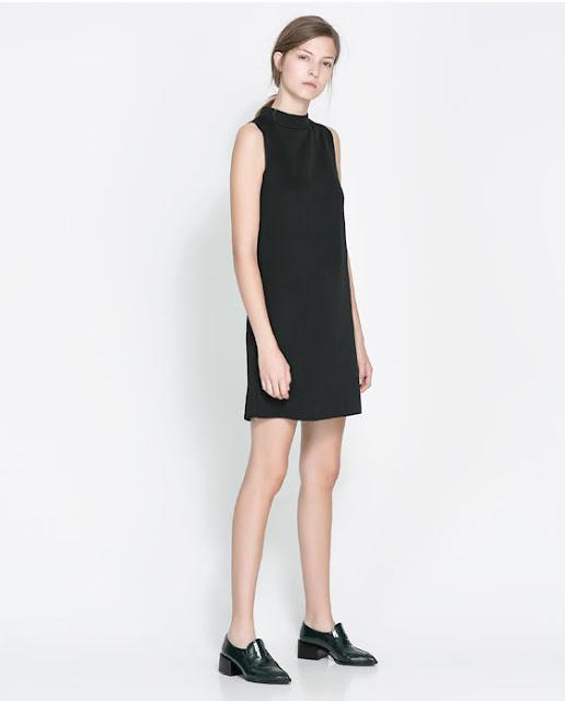 kolsuz siyah elbise kısa