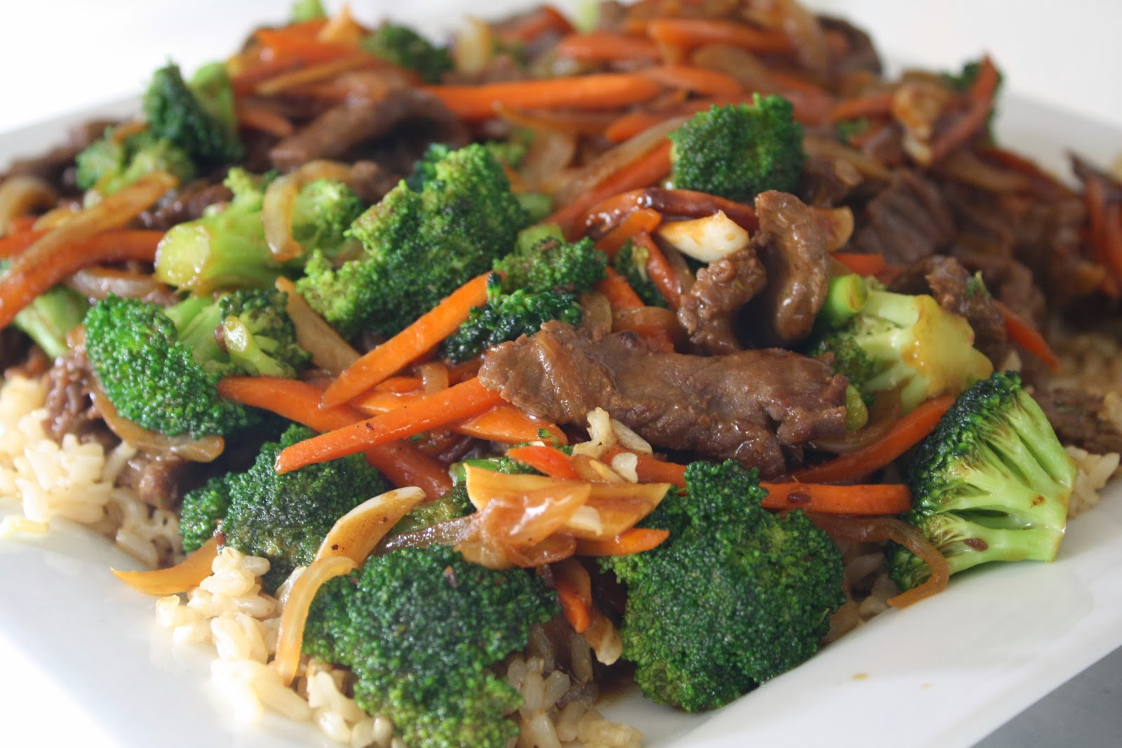 Lauren's Menu: Beef and Broccoli Stir Fry