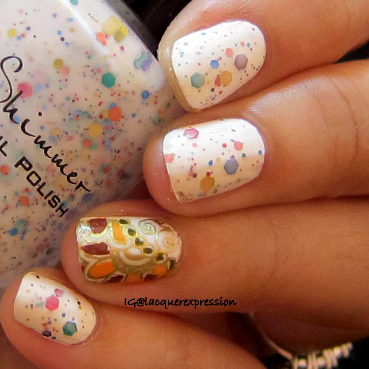 swatch and review of oh splat! by KBShimmer