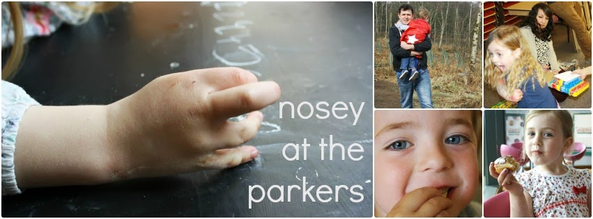 Nosey at the Parkers
