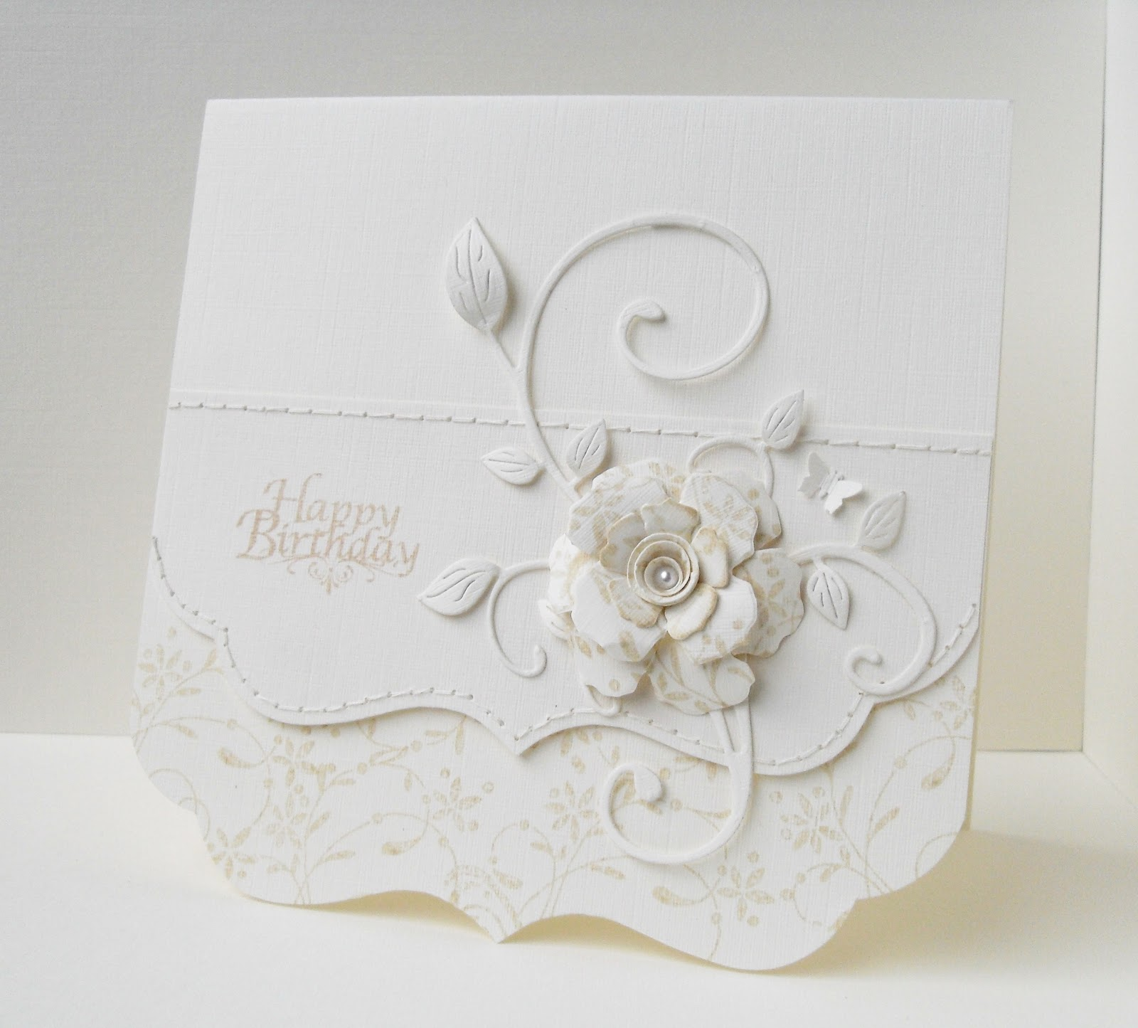 50th Golden Wedding Anniversary Card using Creative Expressions / Sue ...