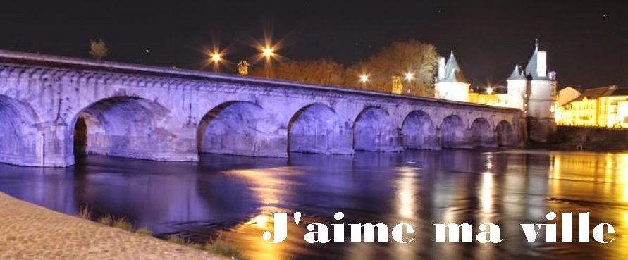 Châtellerault : le pont Henri IV