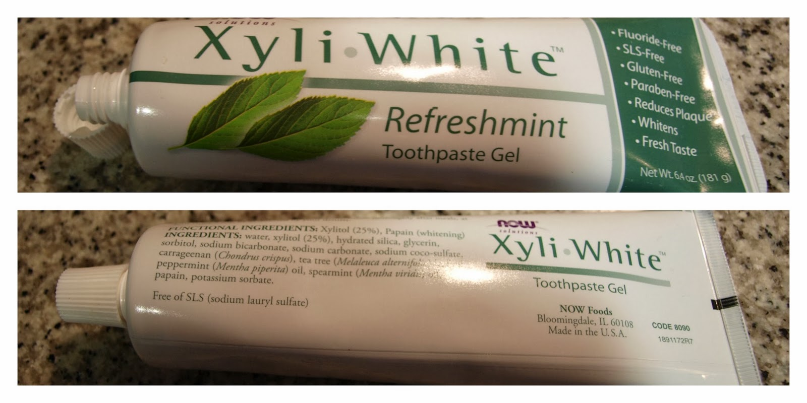 toothpaste xyli white haul iherb pedido review