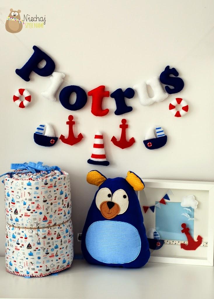 dziecięce dekoracje marynarskie marynistyczne