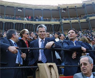 Garzón, invitado de honor en 2001 de Fernando Giner, ex presidente de la diputación valenciana e involucrado en la trama Imelsa
