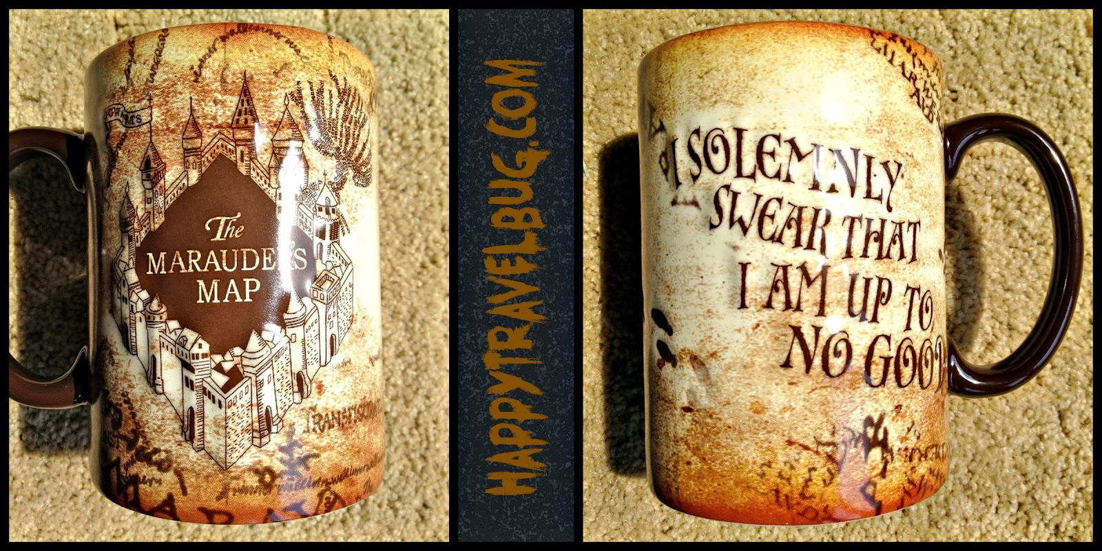 Harry Potter mug: The Marauder's Map