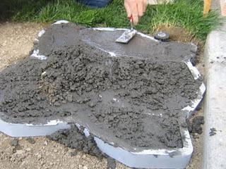 Renovasiku: DIY (15): Cara Membuat Batu Alam Buatan