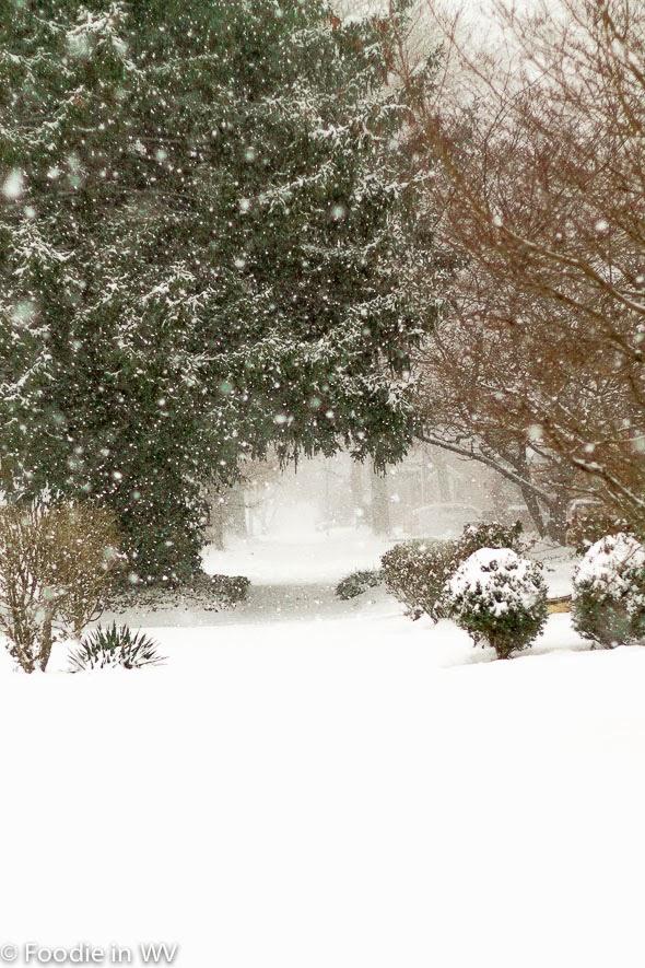 Snow in Huntington, WV