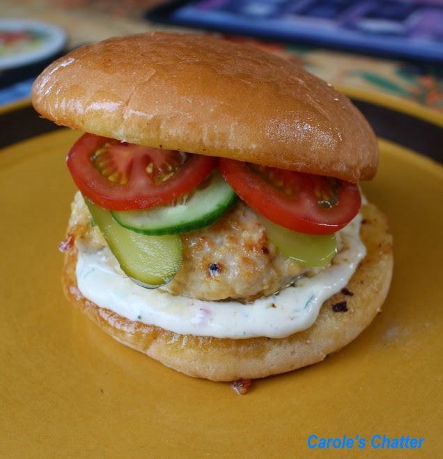Carole's Chatter: Chicken Burger