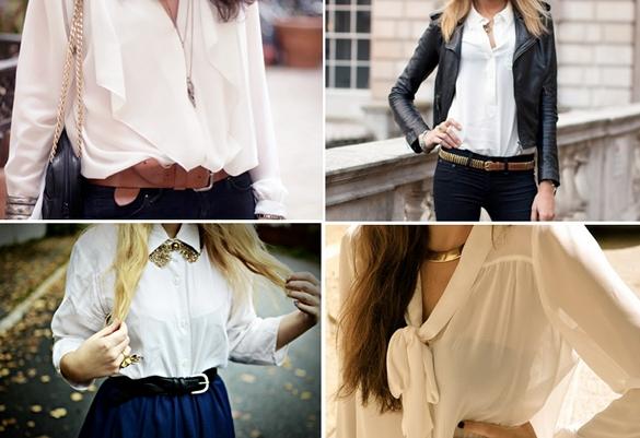 tendencias camisa blanca