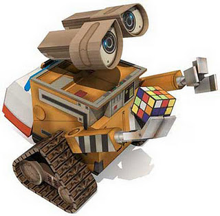 Robot Wall-E Papercraft Model Free Download