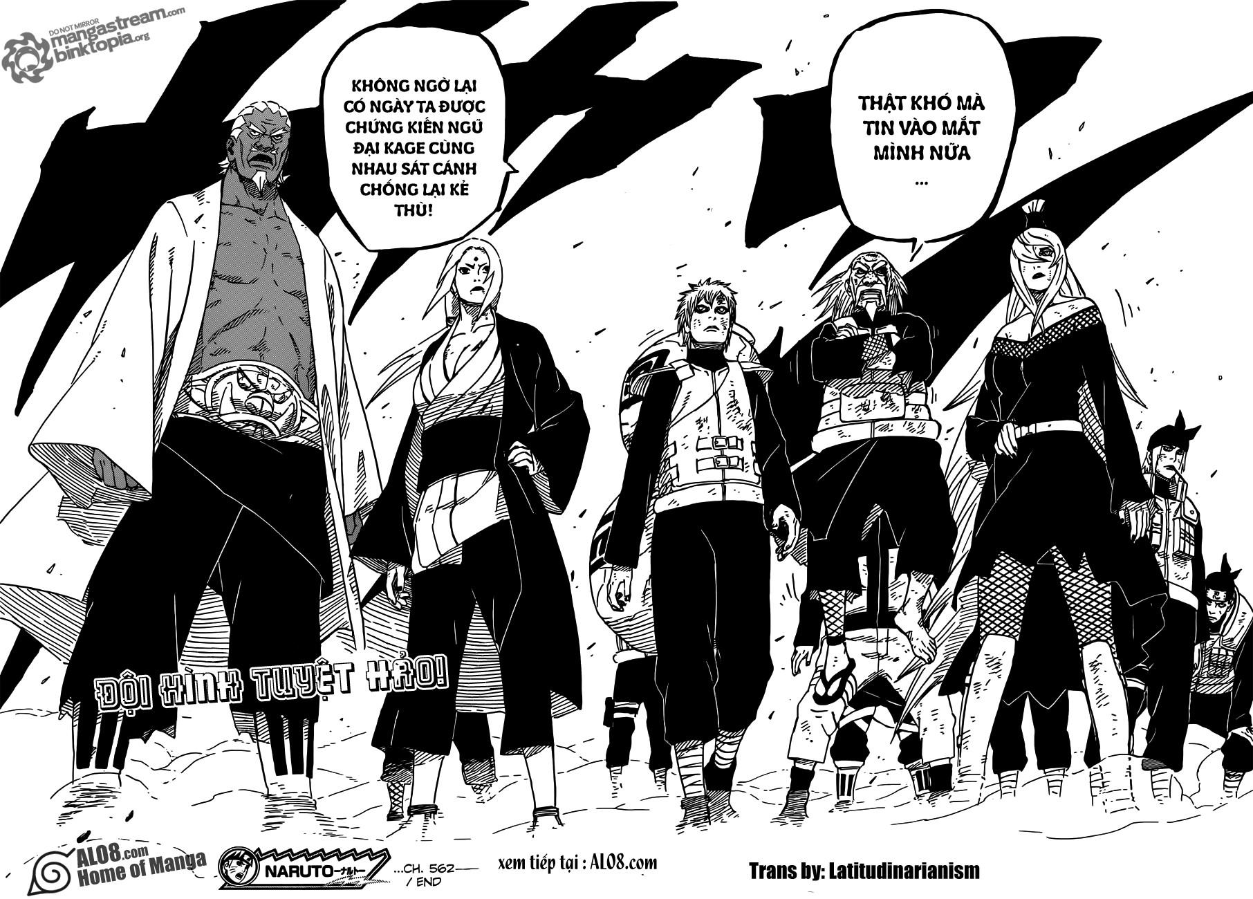 Naruto chap 562 Trang 16 - Mangak.info