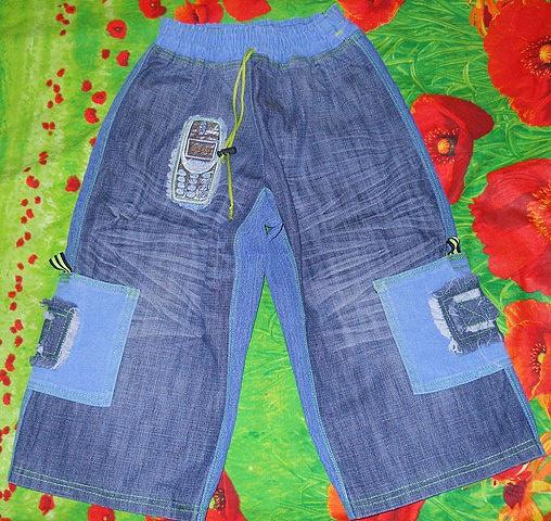 Детские джинсы из старых джинс своими руками