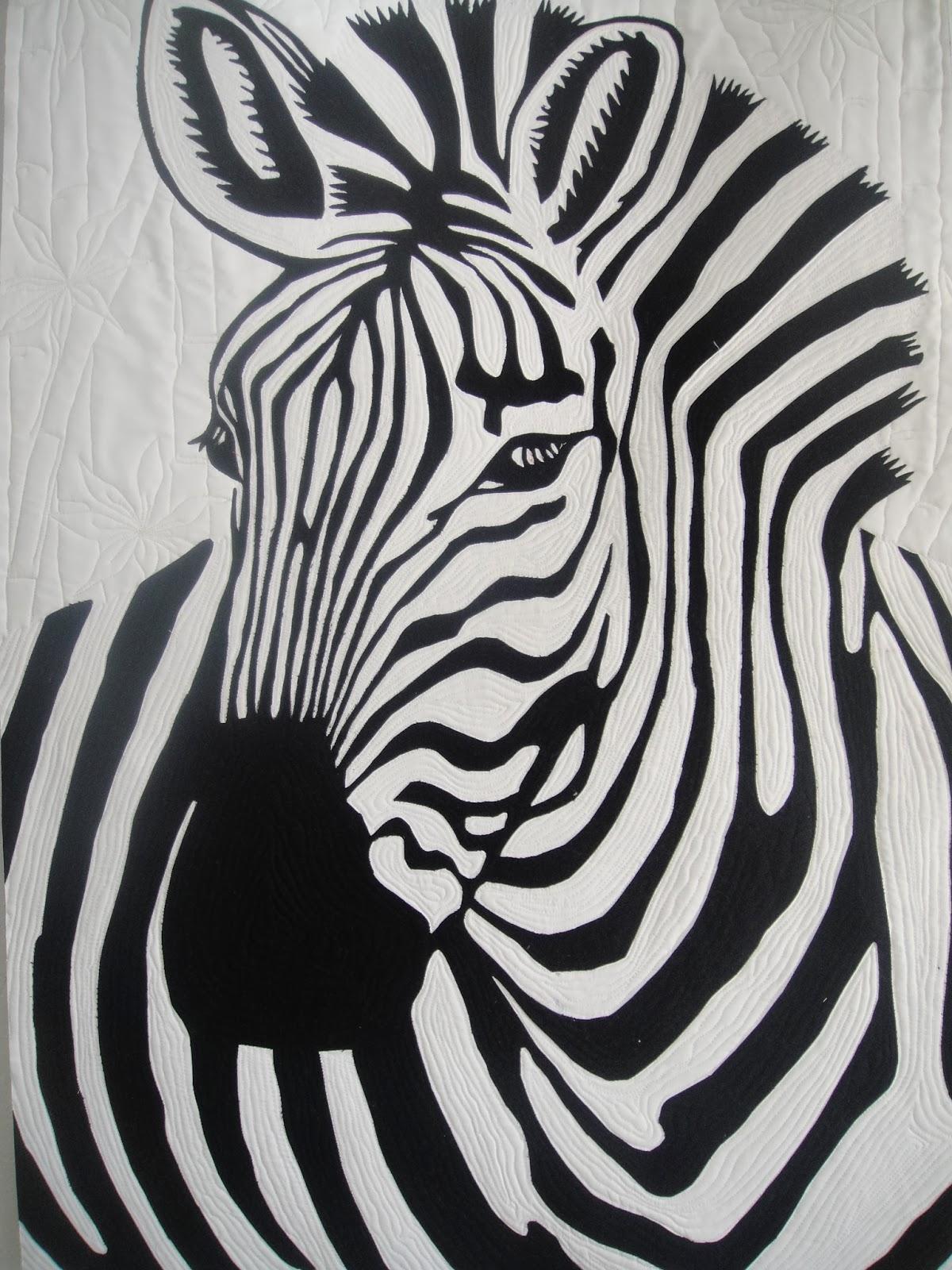 La tertulia del patch monogr fico cebras - Cuadros de cebras ...
