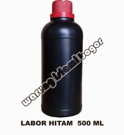 Jual Botol Plastik HDPE Agro Labor Warna Hitam 500ml