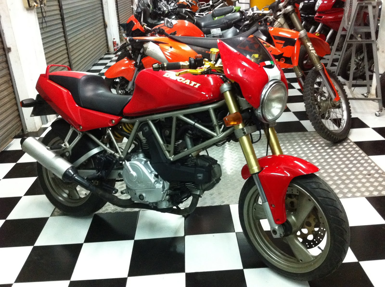 Big Bike For Sale Ducati 400 Ss Facelift Monster Ohm Cycles Samui