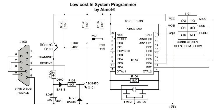 how to make universal avr programmer