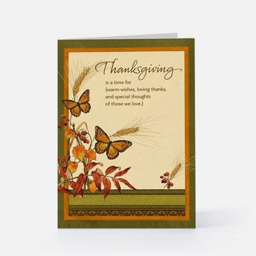 Free Thanksgiving Greeting Card Message