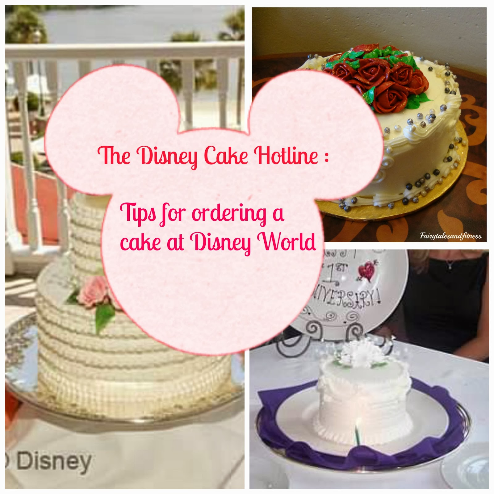 Fairytales And Fitness The Disney Cake Hotline