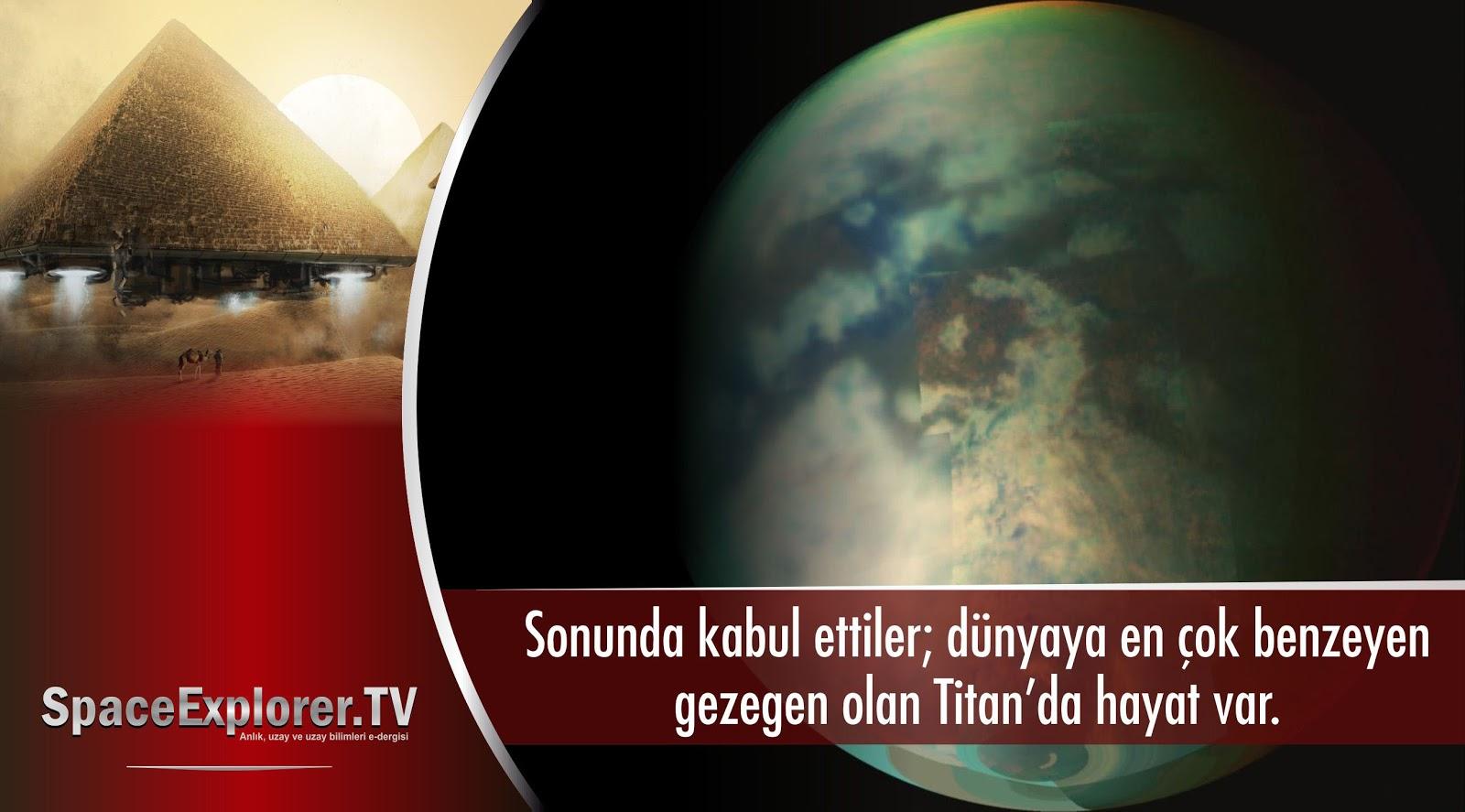 Titan, Güneş sistemi, Hayat olabilecek gezegenler, Uzayda hayat var mı?, Su bulunan gezegenler, Satürn, Satürn'ün uyduları, Güneş sistemimizdeki uydular, Videolar,