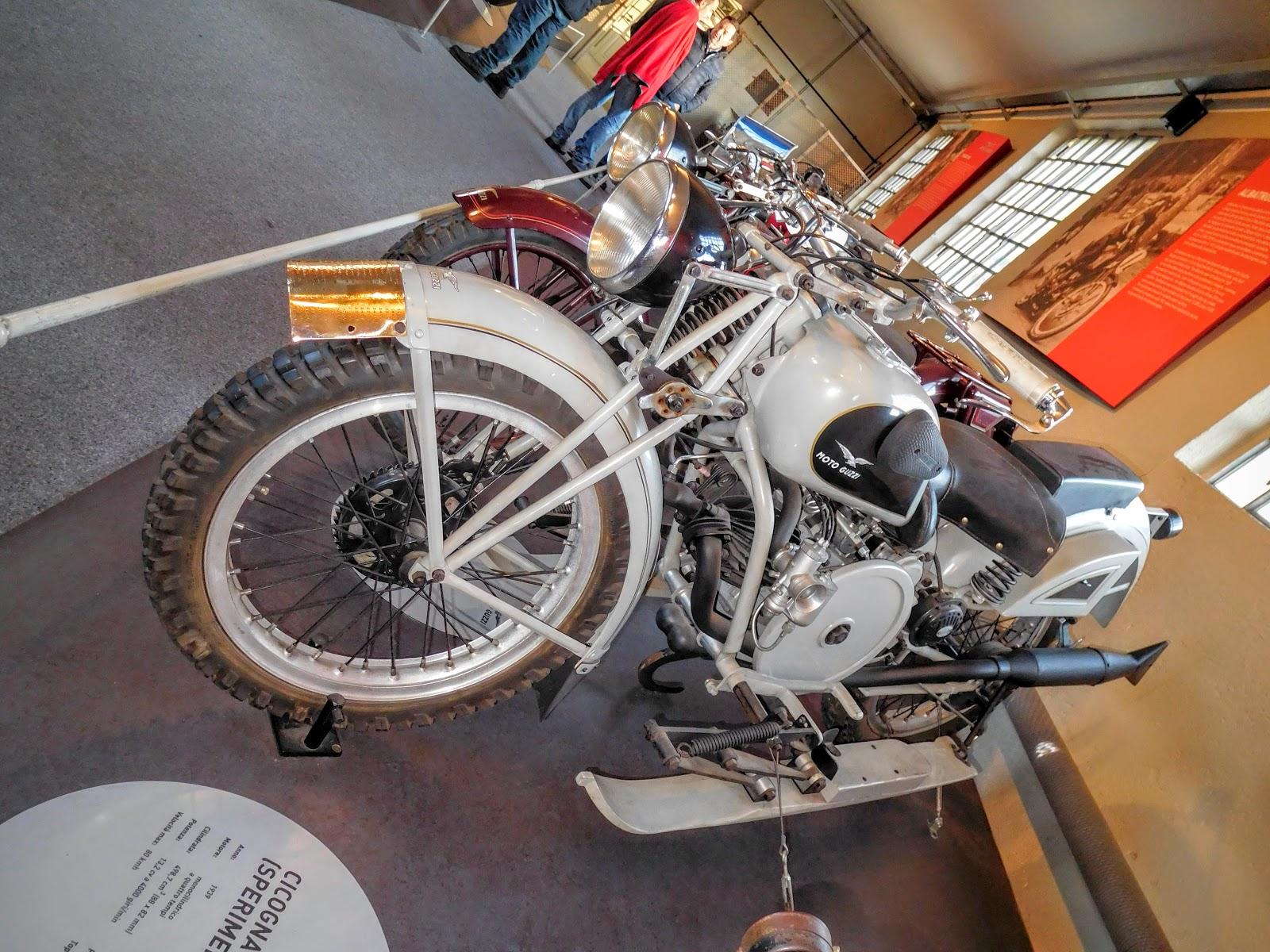 NYDucati: 1939 Moto Guzzi Cicogna