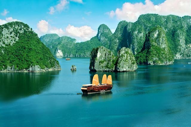 tempat liburan di Vietnam yang indah