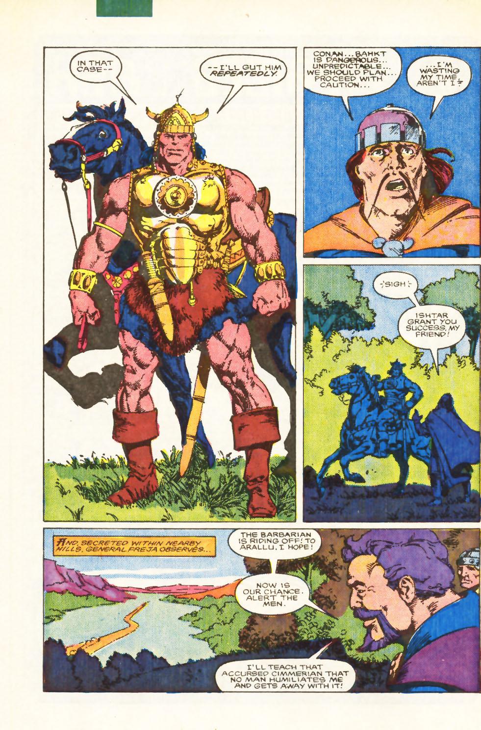 Conan the Barbarian (1970) Issue #198 #210 - English 7