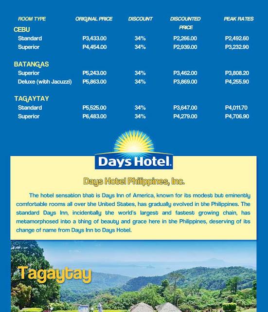 Days Hotel Batangas Room Rates
