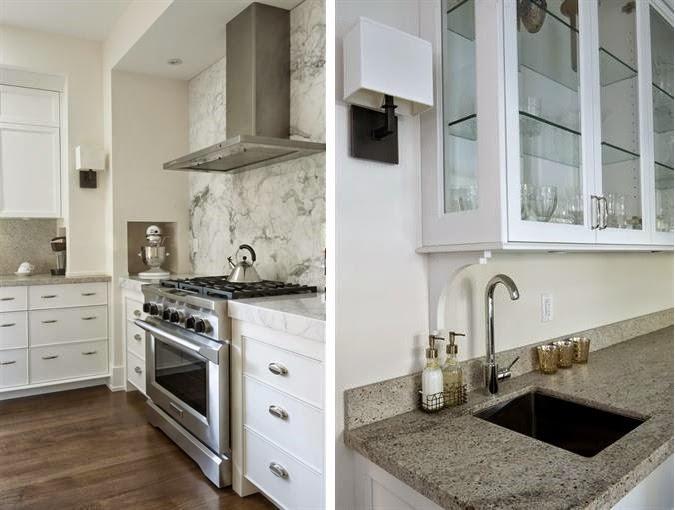 Muebles de cocina para no tener que preocuparse por las for Cocinas tradicionales blancas