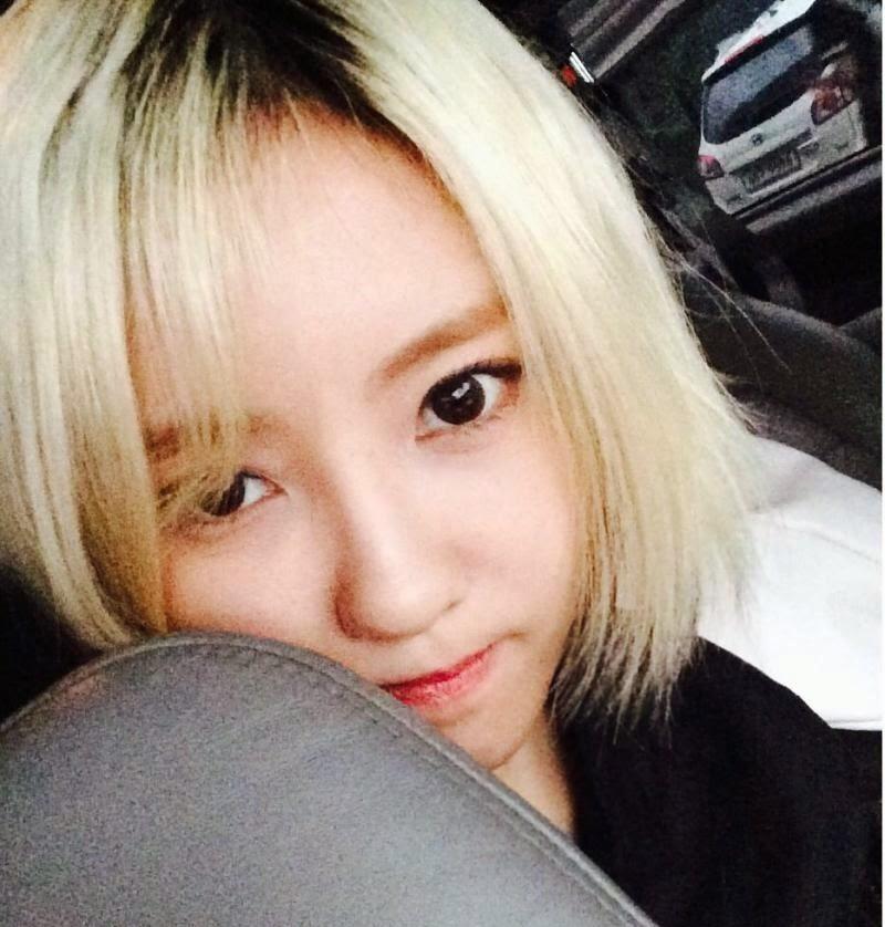 t-ara hyomin blonde