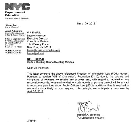 I want to write a letter to mayor bloomberg