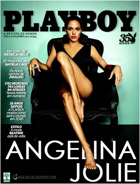 Fotos In Ditas E Eclusivas De Angelina Jolie Nua Somente
