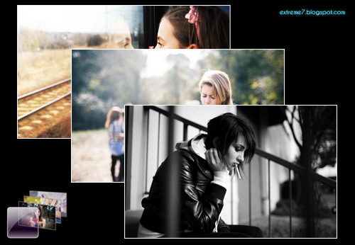 Girls Photography Theme for Windows 7