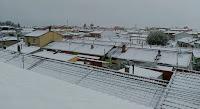 Nieva en Nava