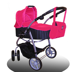 Bassinet Doll Stroller6