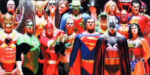 Héroes y Villanos de Alex Ross