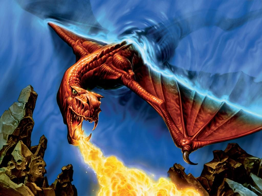 cartoon pict... Pictures Of Fire Dragons