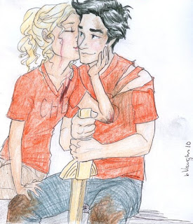 Percy Jackson e Annabeth chase
