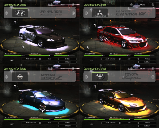 Instal Car Nfs Udneground