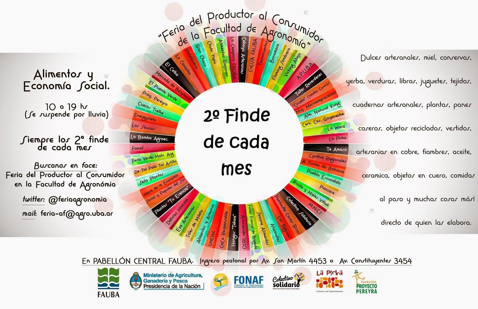 Feria del Productor al Consumidor en Agronomia