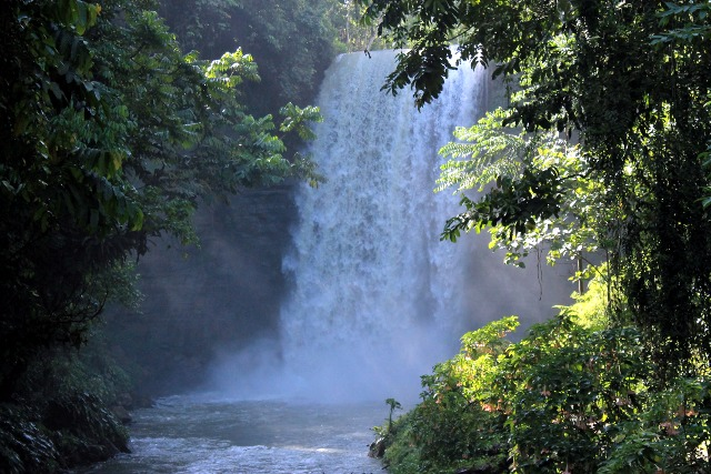 seven falls, lake sebu by julienne