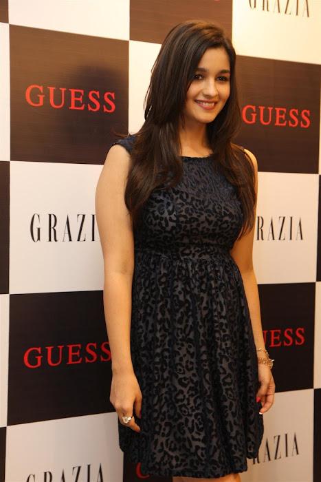 alia bhatt unveils grazia magazine party special issue. glamour  images