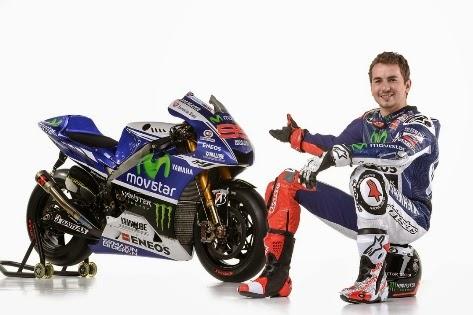 [Official foto] Livery baru Yamaha YZR M1 di MotoGP musim 2014 . . . Movistar