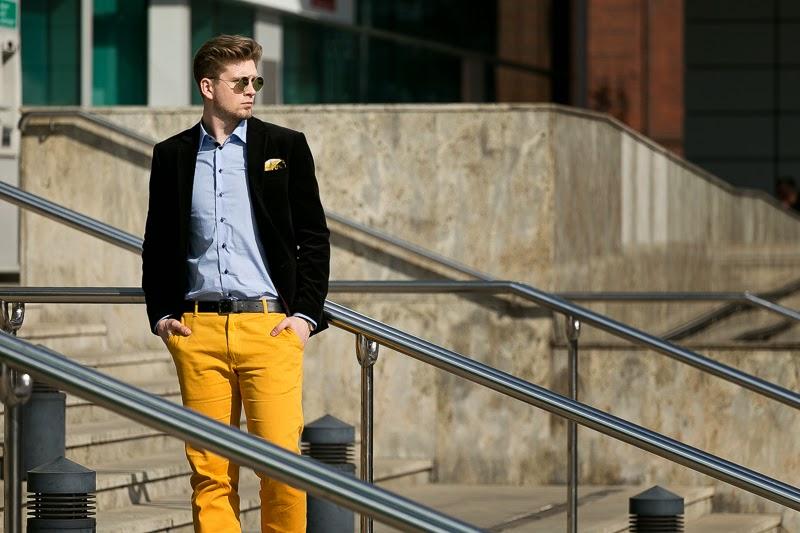 moda meska na wiosnę