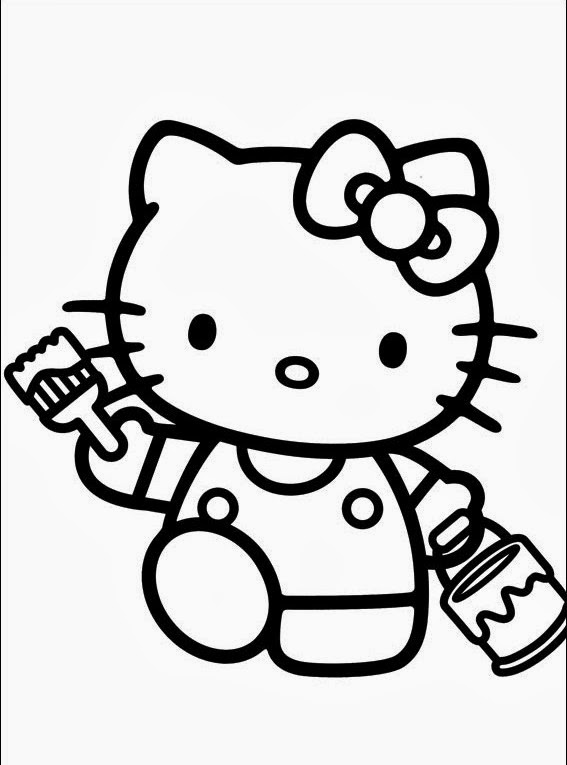 Jeux de coloriage hello kitty liberate - Hello kitty jeux coloriage ...