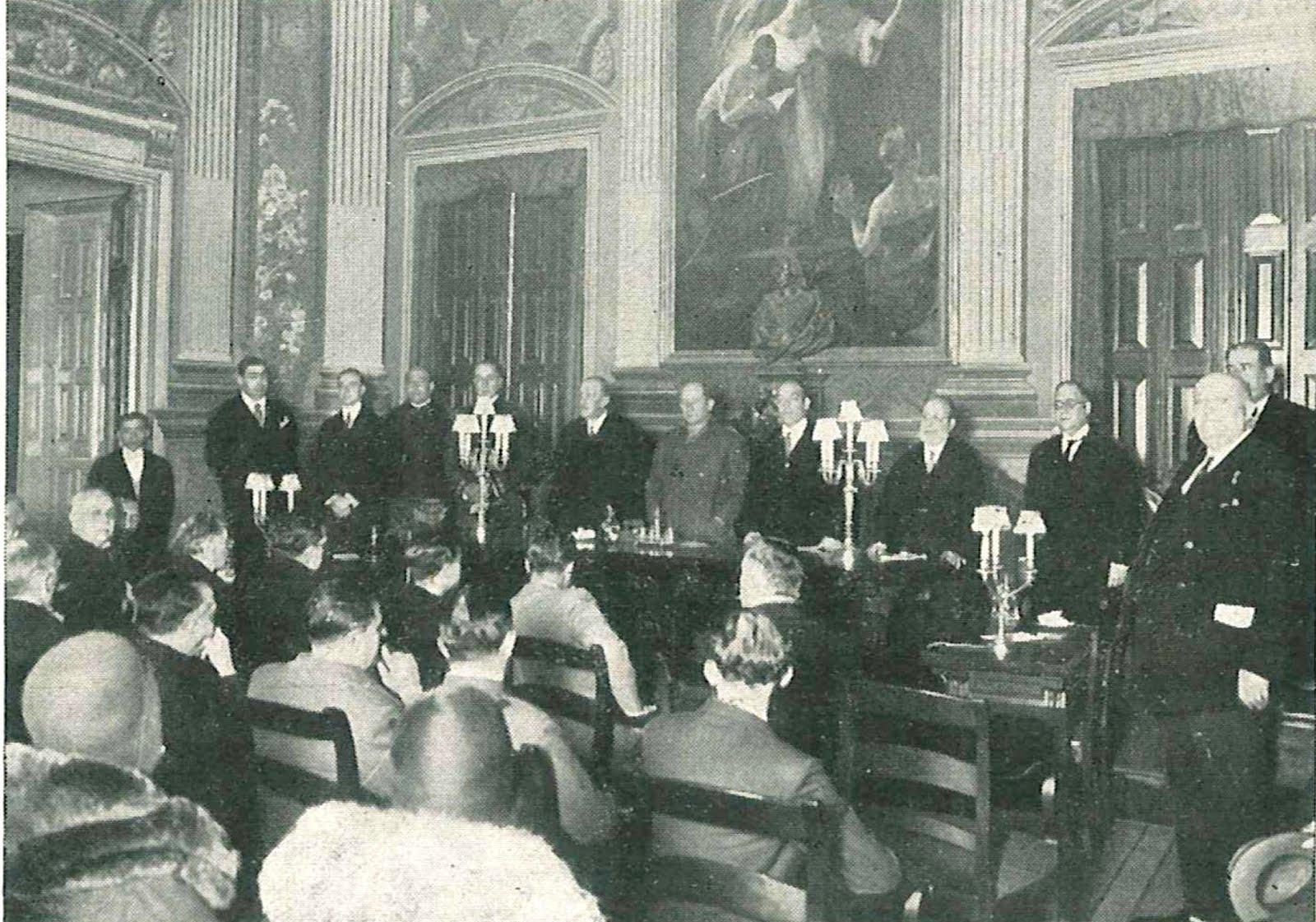 I Congreso Español de Radioaficionados en 1929
